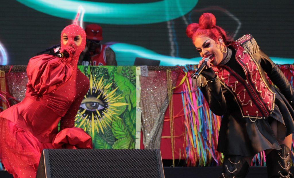 Linn da Quebrada e GLoria Groove - Luck Veloso - Rock in Rio