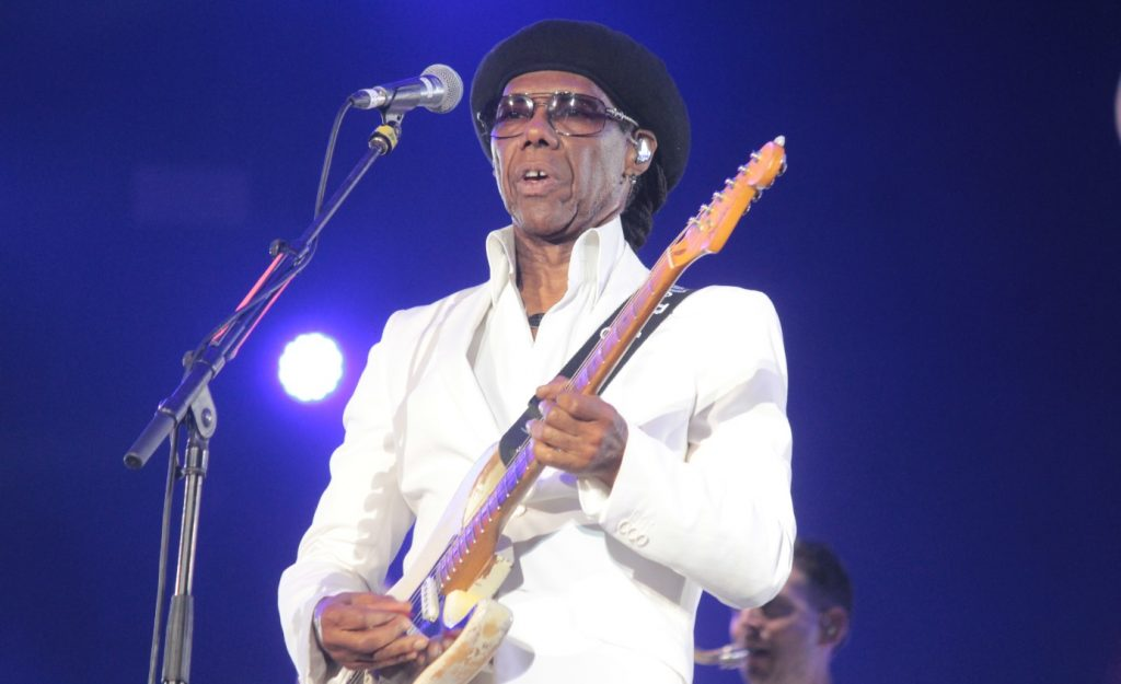 Nile Rodgers - Luck Veloso - Rock in Rio