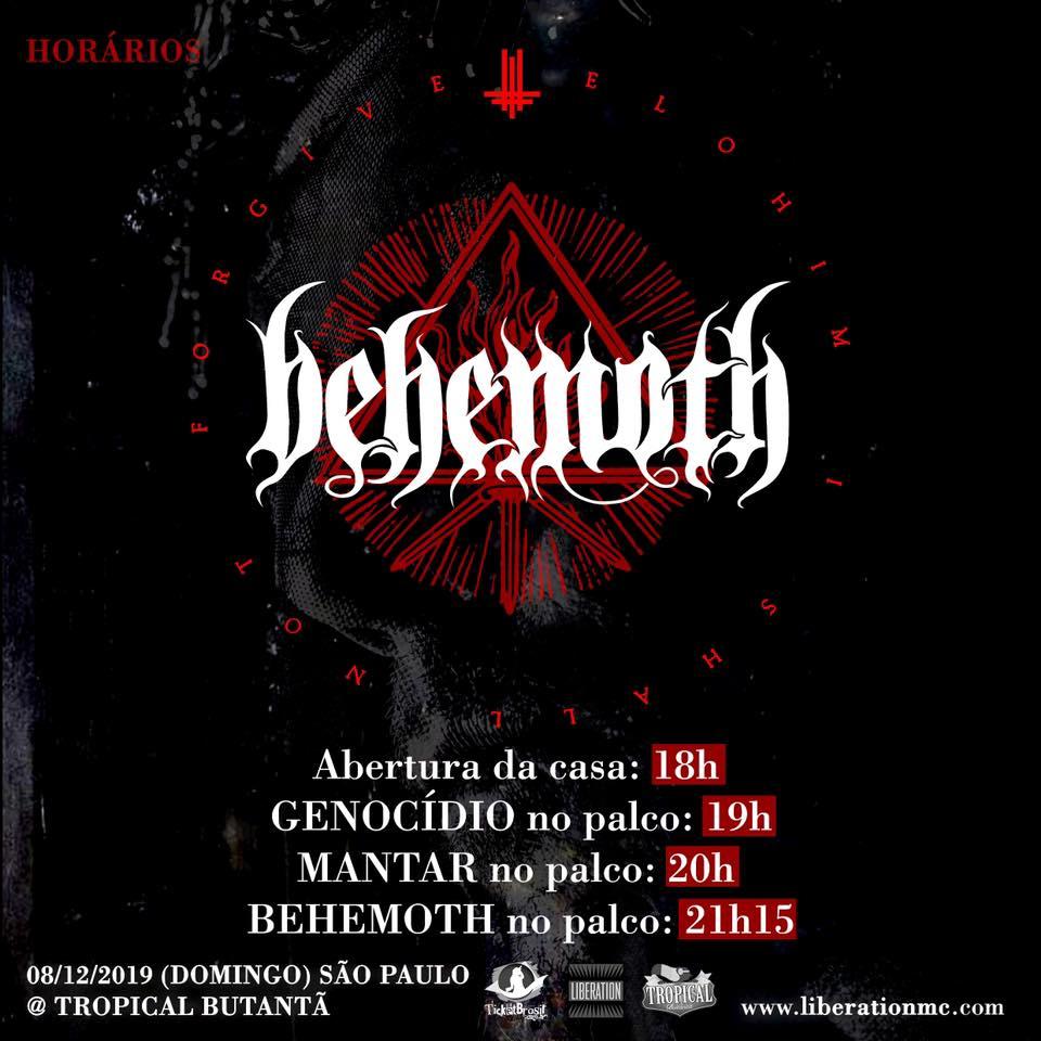 Horários Behemoth