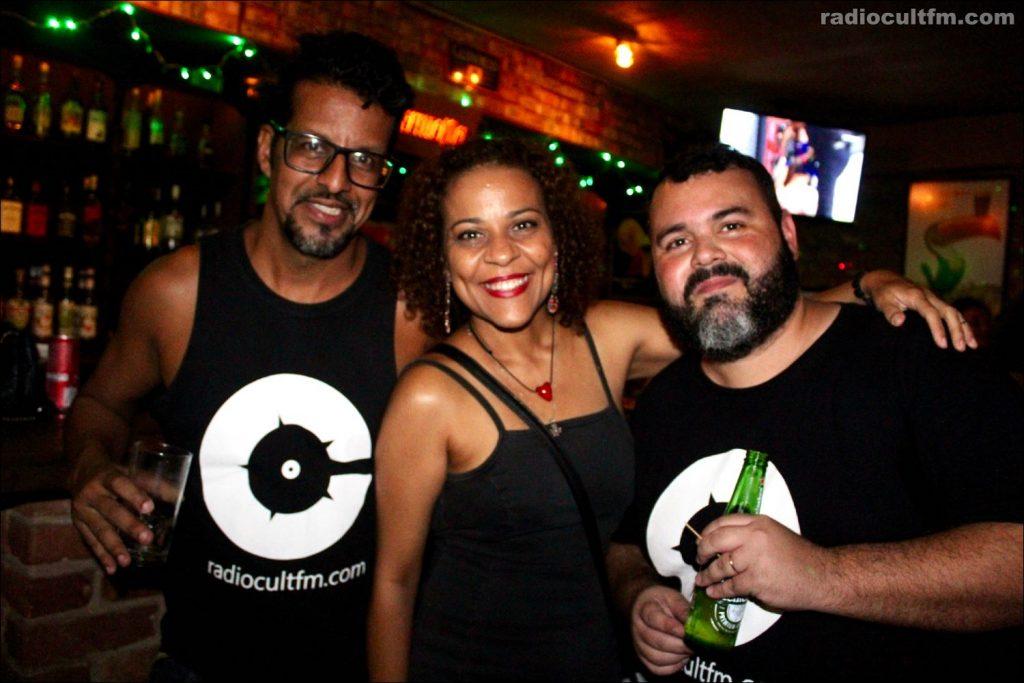 Luck Veloso, Andrea Alves e André Cult