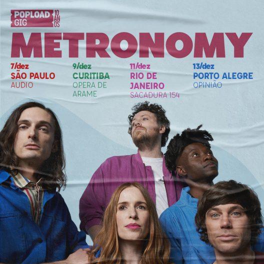metronomy tour