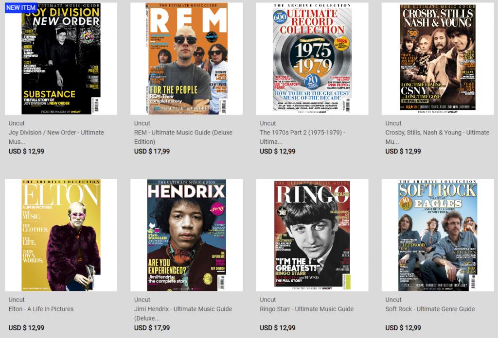NME Magazine on-line