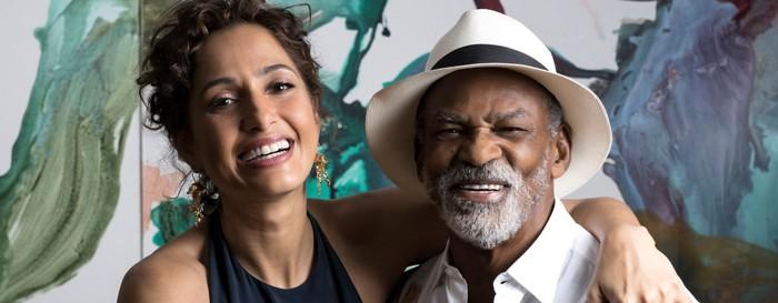 Camila e Antônio Pitanga, homenageados da 23ª Mostra de Cinema de Tiradentes.