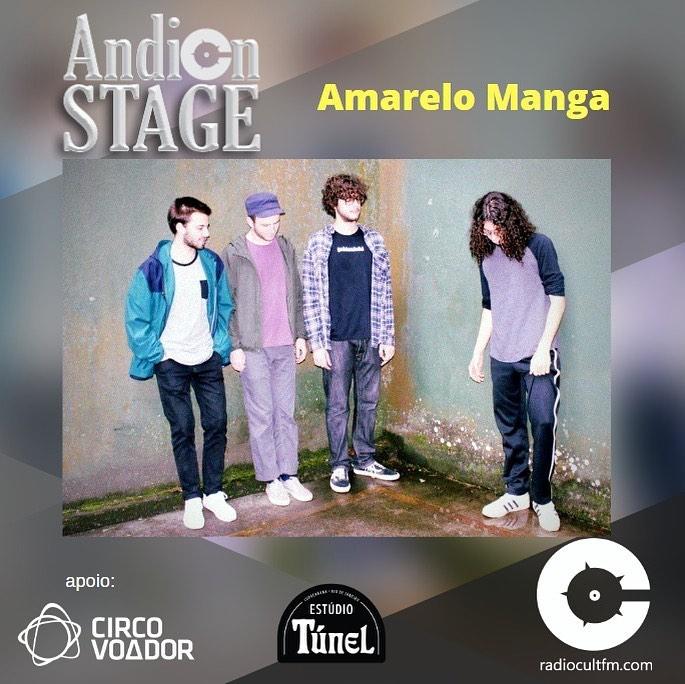 Andion Stage - Amarelo Manga