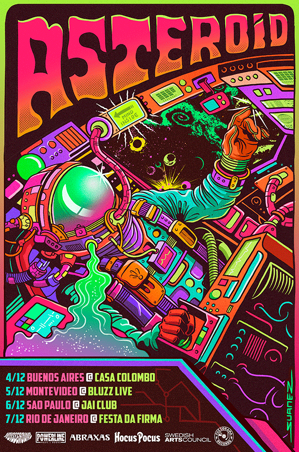 asteroid tour