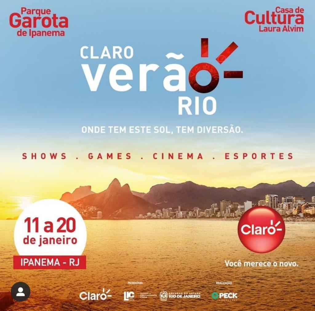 Flyer Claro Verão Rio