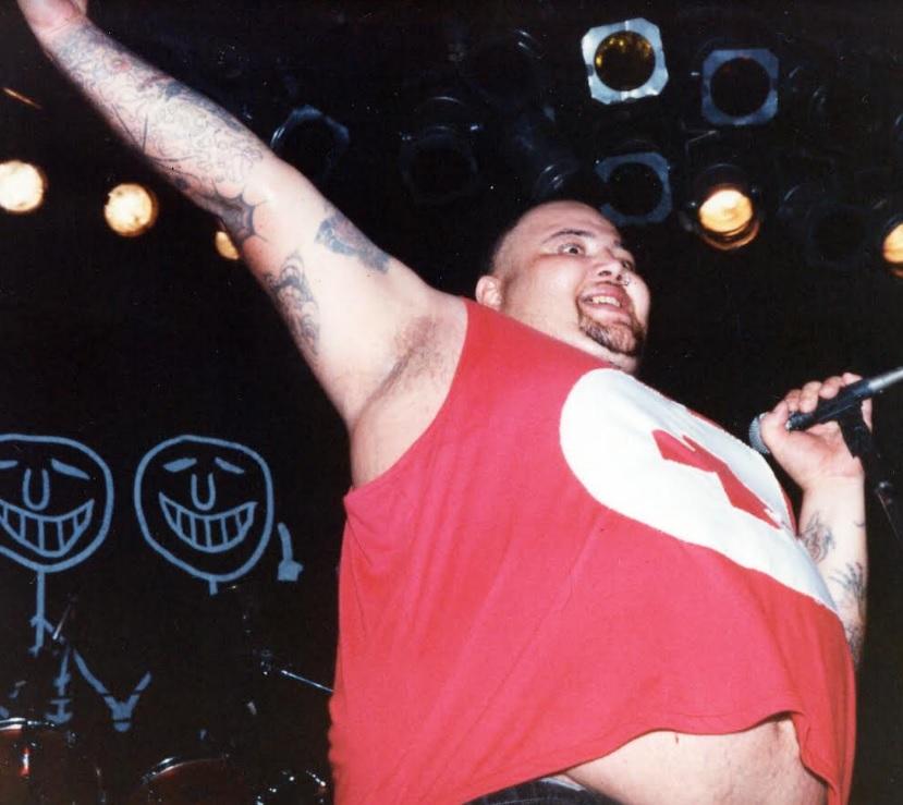 João Gordo no Circo Voador em 1996 - Michael Meneses
