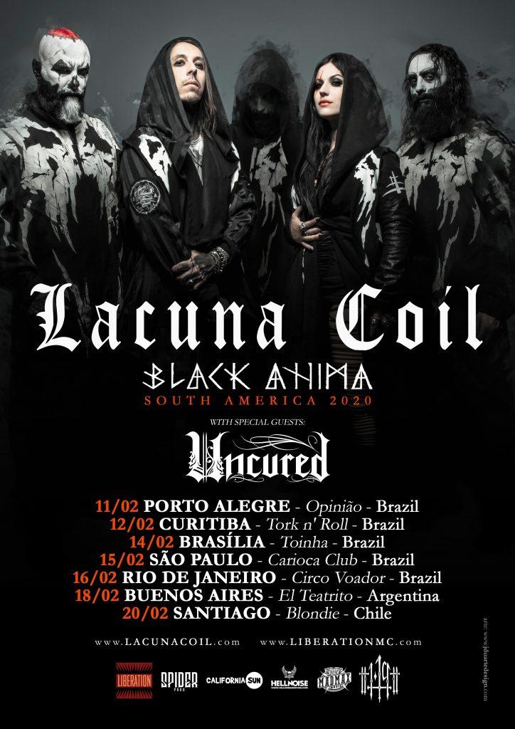 Lacuna Coil tour
