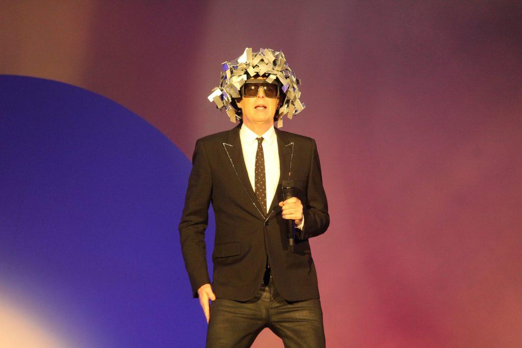 Neil Tennant no Rock in Rio 2017 - fotos de Luck Veloso