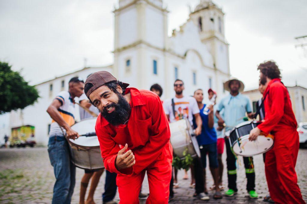 "The Baggios no clipe de ""Limaia"" - Foto: Fernando Correia"