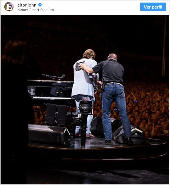 Elton John Instagram Oficial