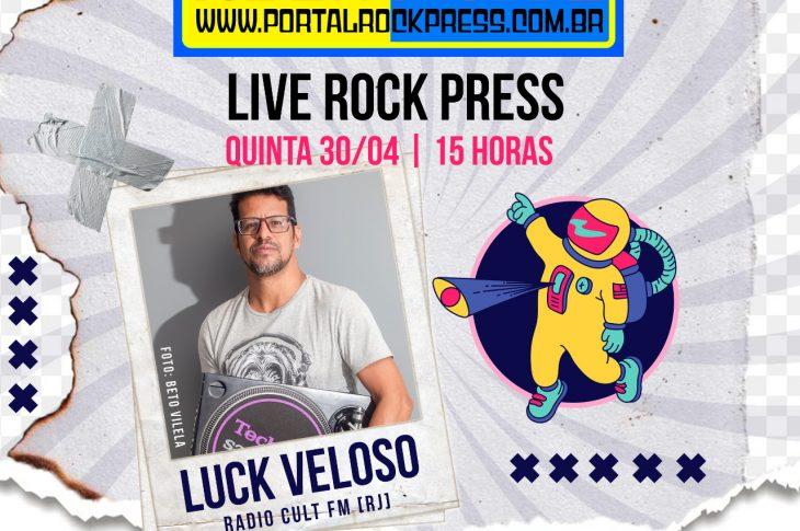 Portal Rock Press live Luck Veloso