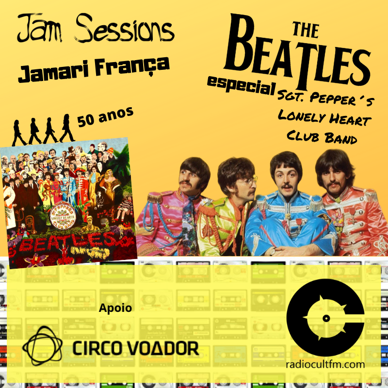 Jam Sessions Sgt. Pepper´s Lonely Heart Club Band - Luck Veloso - Jamari França