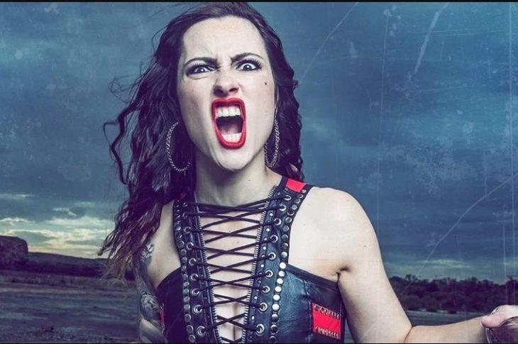 Diva Satânica, nova vocalista da Nervosa