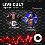 DJ Terror é o convidado de Luck Veloso na live da Radiocultfm