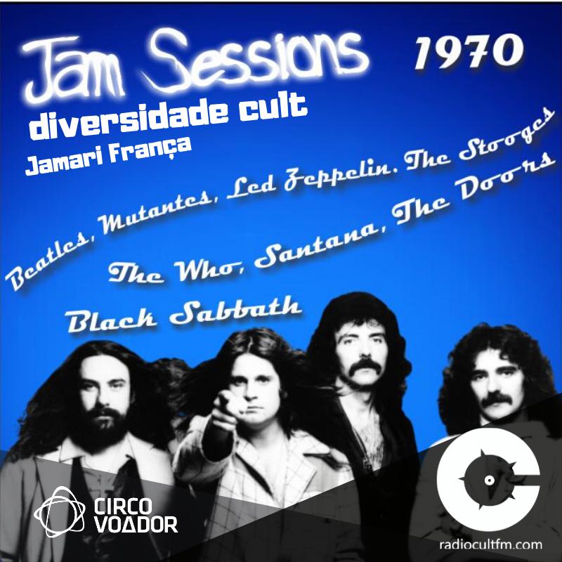Jam Sessions 1970 - Jamari França e Luck Veloso com edição de André Cult