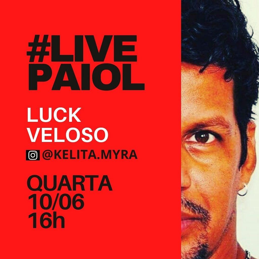 Luck Veloso é o convidado de Kélita Myra na live da Fogo no Paiol Music Hub