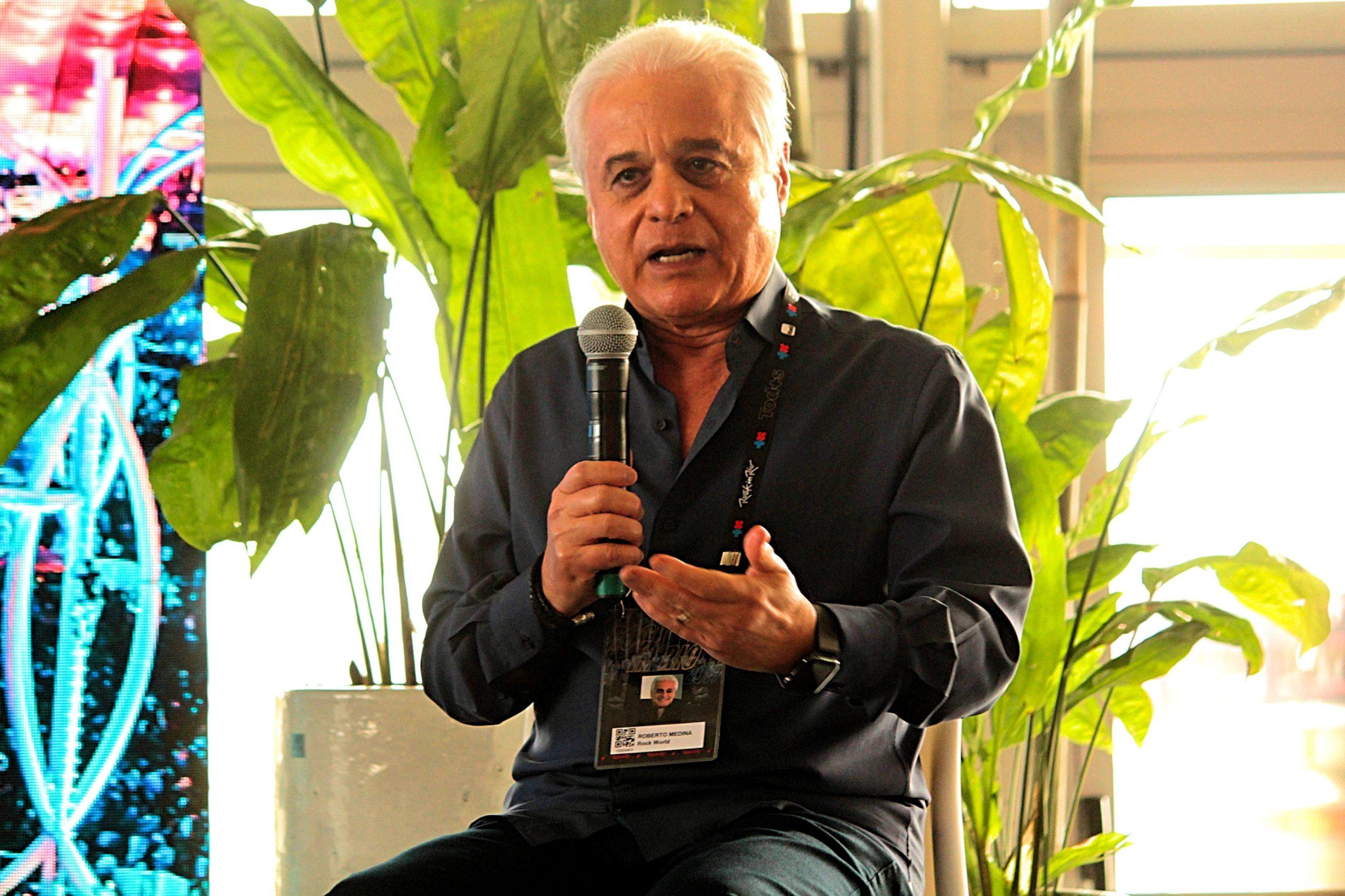 Roberto Medina em foto de Luck Veloso