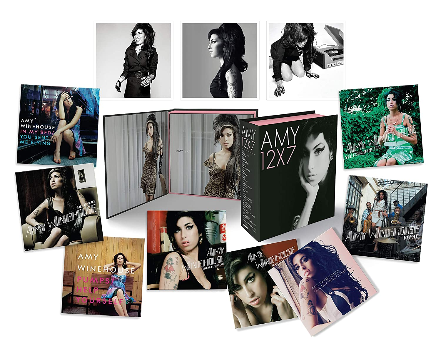 "Amy Winehouse em 12x7: The Singles Collection [12 7"" Singles Box Set] - O Box definitivo!"