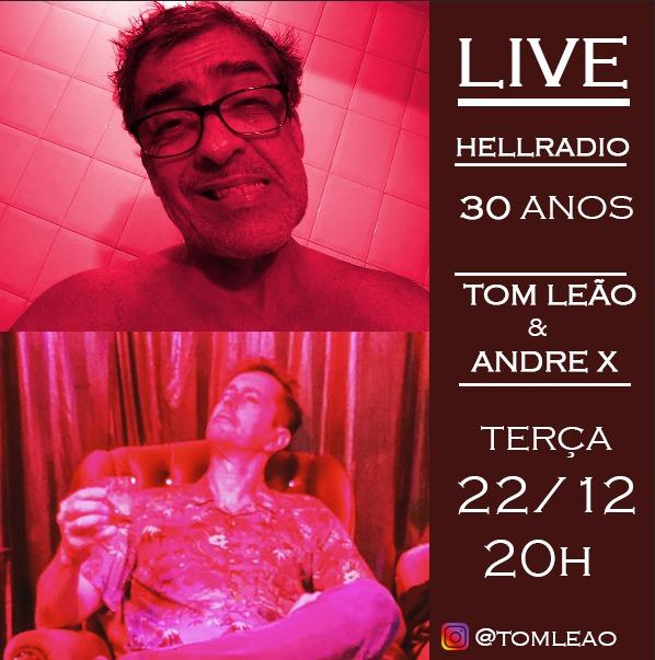Tom Leão e André X em Hell Radio