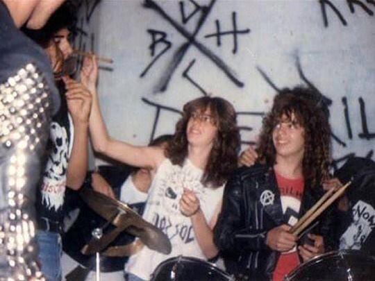 sepultura nos anos 1980 - reprodução