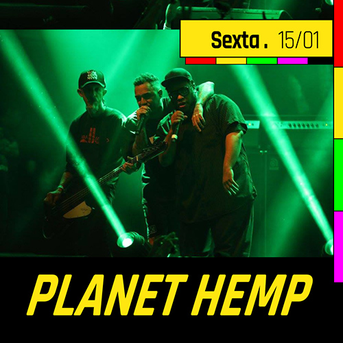 Planet Hemp no Circo Voador
