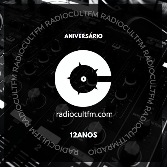 Rádio Cult FM 12 ANOS!